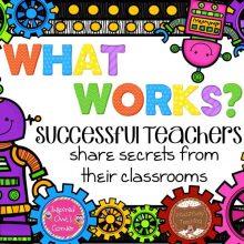 What Works Teacher Appreciation Tips