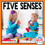 Engage your class in an exciting hands-on experience learning the five sense! Perfect for science activities for Kindergarten, First Grade, and Second Grade classrooms and packed full of inviting science activities.  Students will learn five senses science lessons through poems, hands-on senses lessons, and inviting senses printables. This pack is great for homeschoolers, unit studies, and includes science lesson plans!