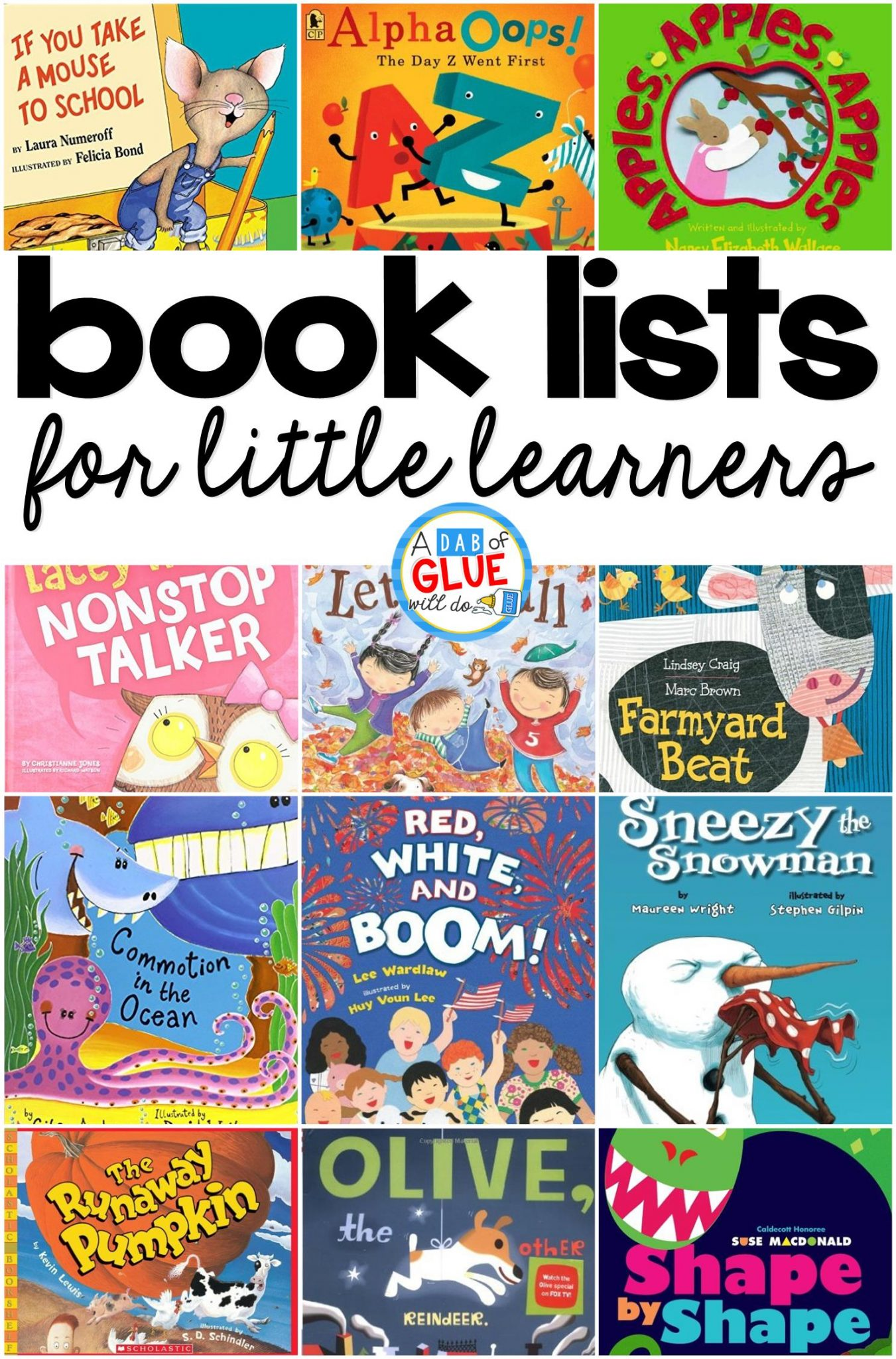 I absolutely love books and I love even more using them to help teach my students (and children) about the world we live in. It seriously makes my teacher heart so happy that my kids enjoy reading as much as I do. I wanted to start this page to share with you my favorite books. Each list will provide you with my favorite 12 books. Some of these lists will be thematic in nature, while others will be about a certain topic like rhyming or addition. I hope that you find these helpful in choosing books to use at home or in the classroom.