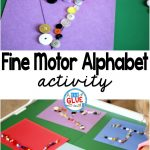 Fine Motor Alphabet is a low prep, fun, hands-on learning activity. It helps children improve their fine motor skills while learning the letters of the alphabet.