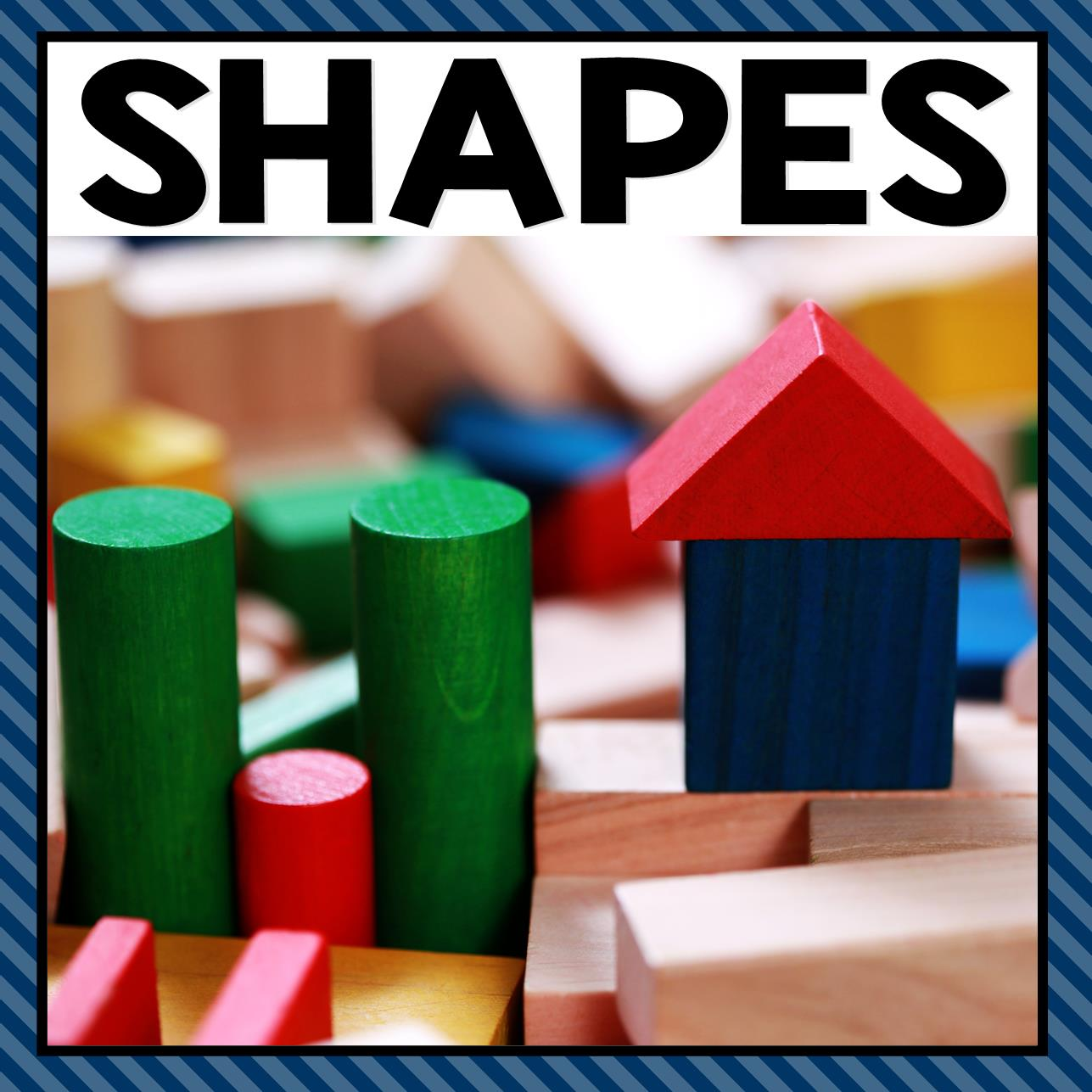 There are so many different shapes activities that you can do at home or in the classroom. This page allows you to quickly see our favorite shapes ideas, activities and printables that have been featured on A Dab of Glue Will Do.
