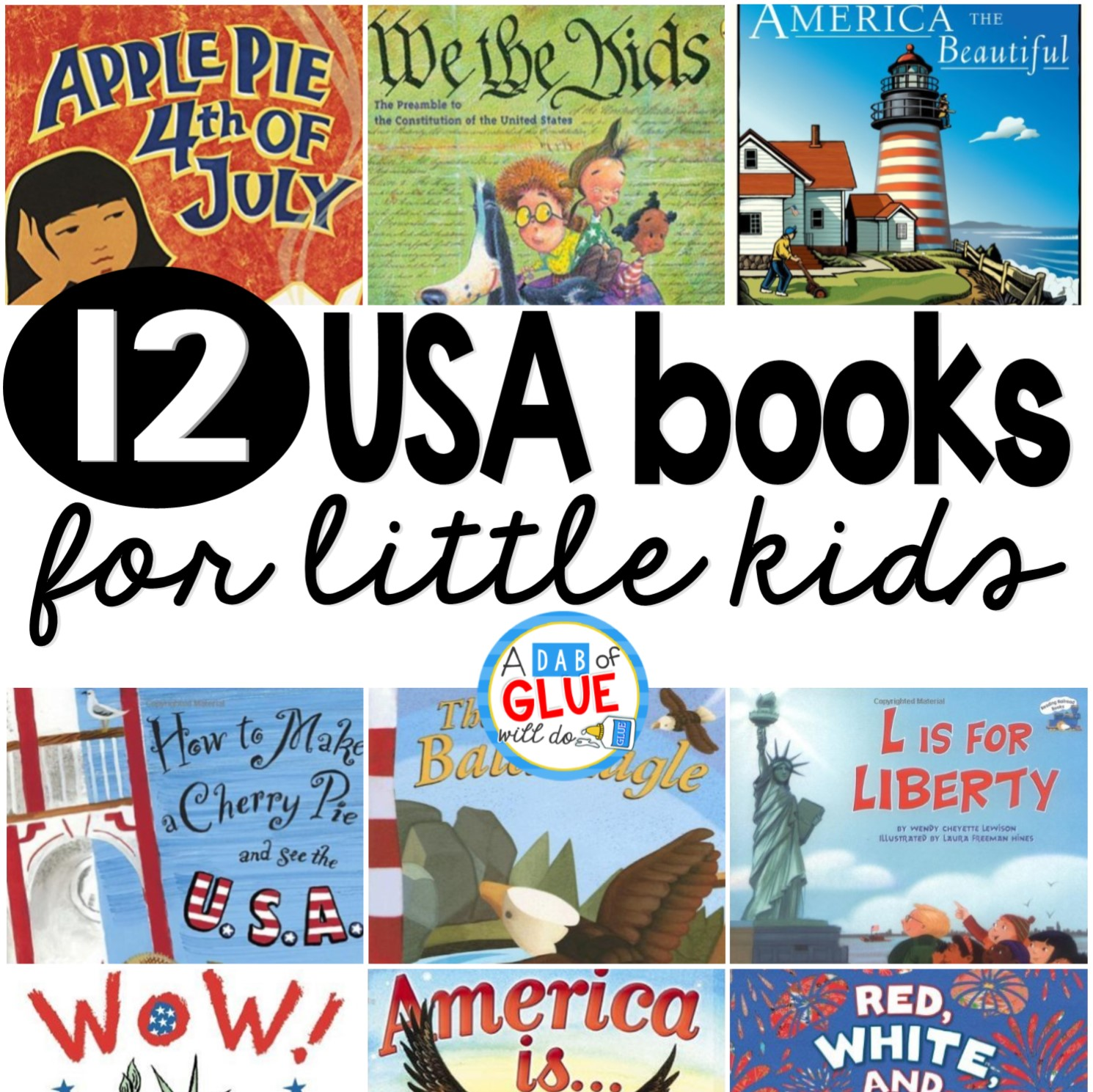 Here are 12 of our favorite USA books.