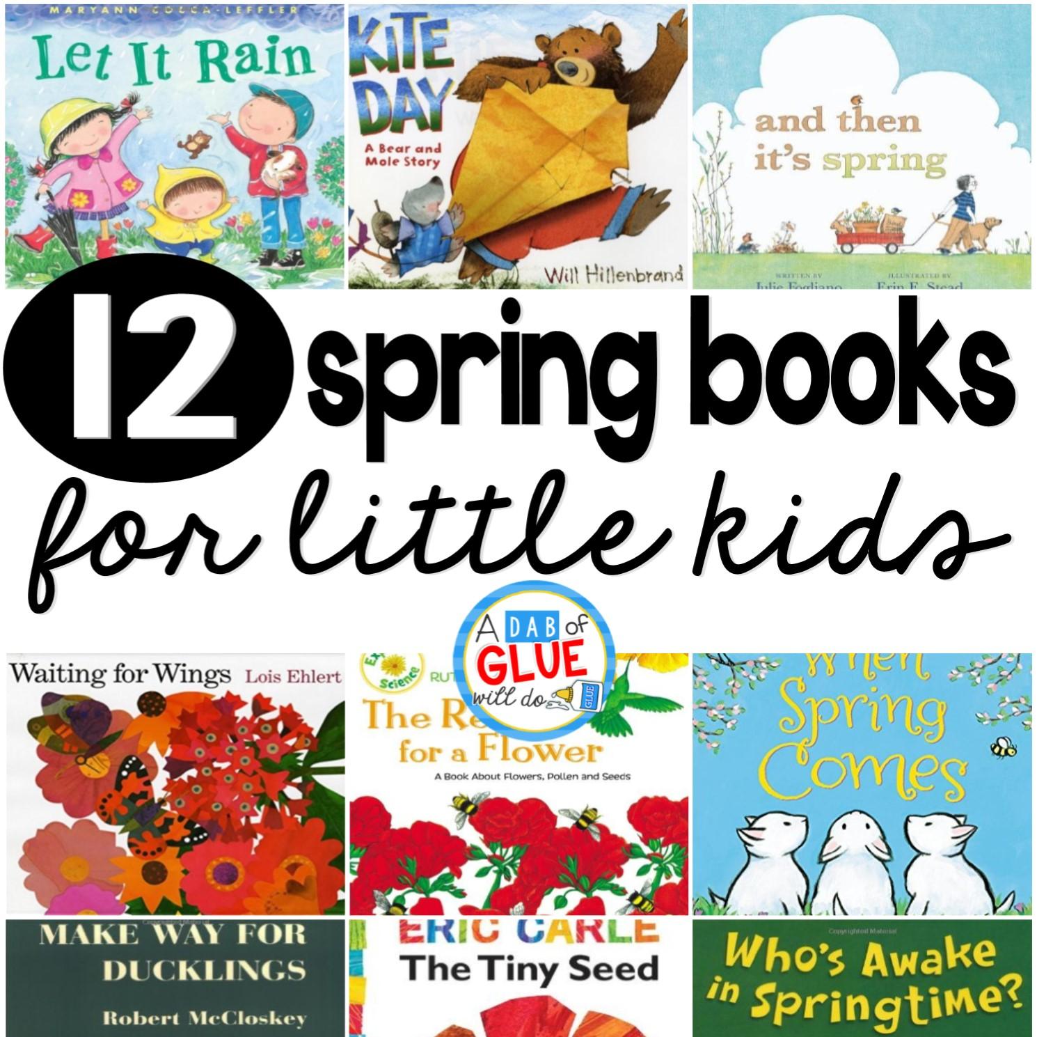 12 spring books for little kids
