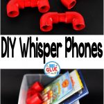 Have you ever looked at these whisper phones wishing you could have them in your classroom, but not really wanting to shell out the big bucks for a classroom set? Well, do not fret. You can make whisper phones for every student in your classroom for CHEAP and it is super easy.