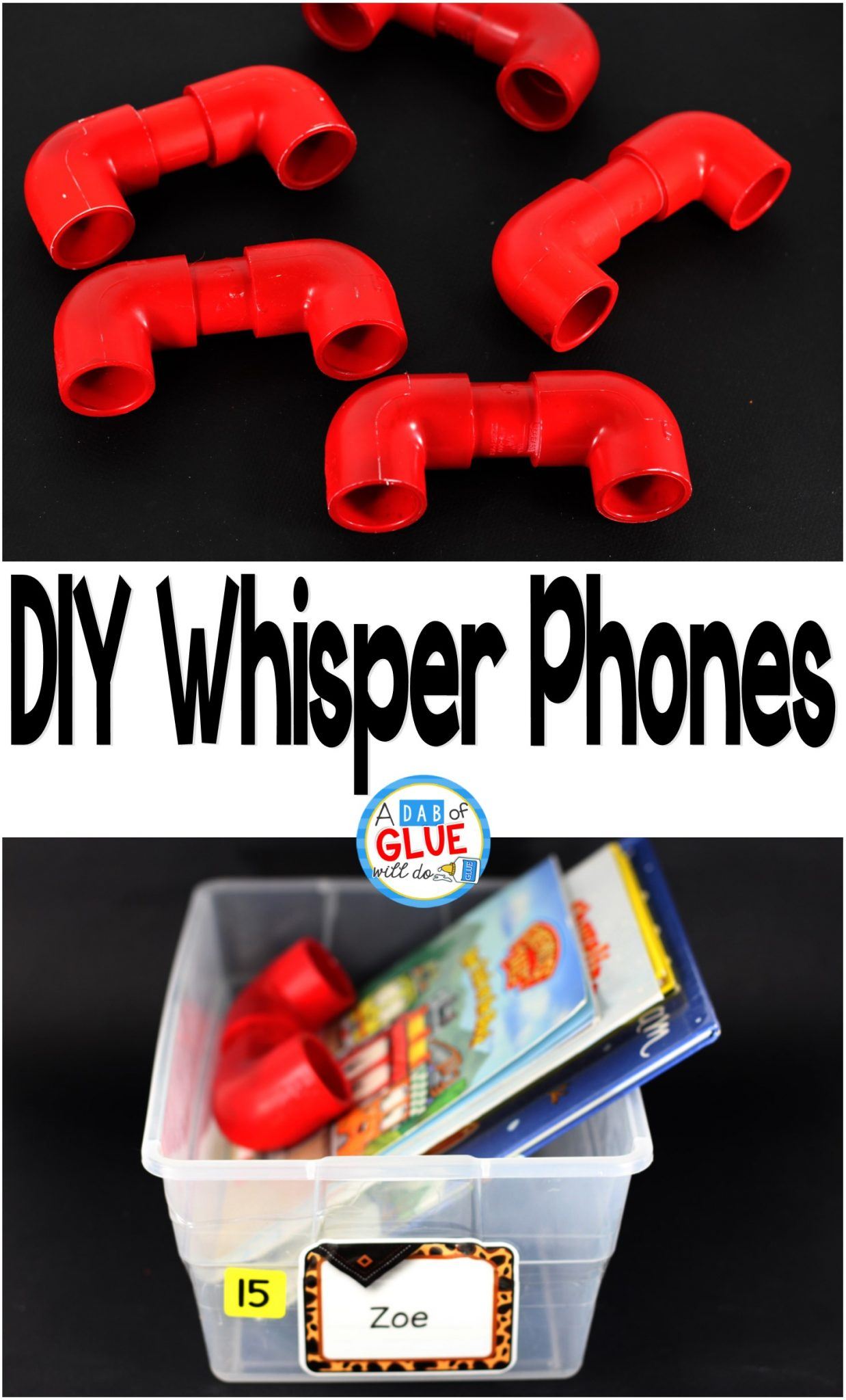 DIY Whisper Phones