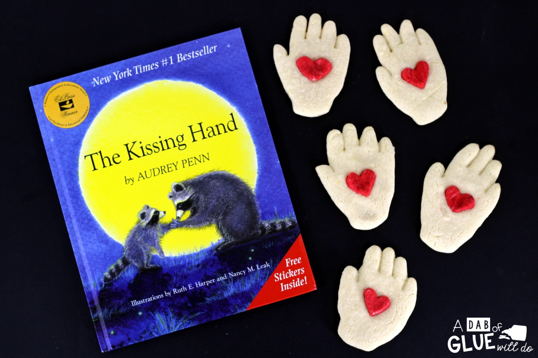 One of my favorite activities to do on the first day is to read The Kissing Hand to my students and enjoy a tasty kissing hand cookie to celebrate making it through our first day of school.