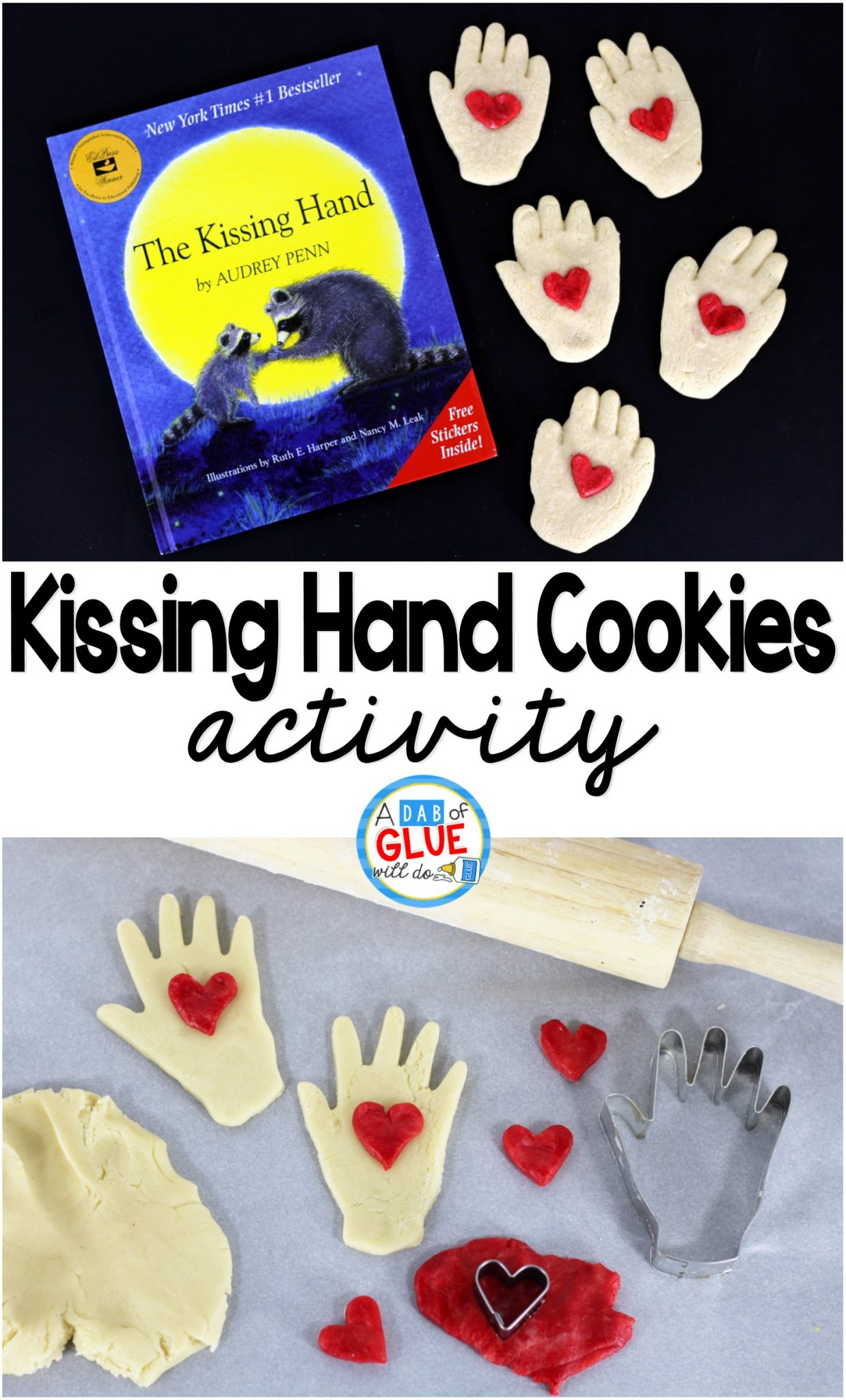 Kissing Hand Cookie
