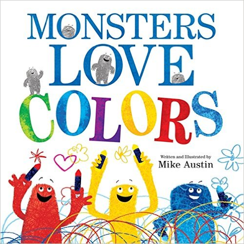 12 books about colors for little kids -
