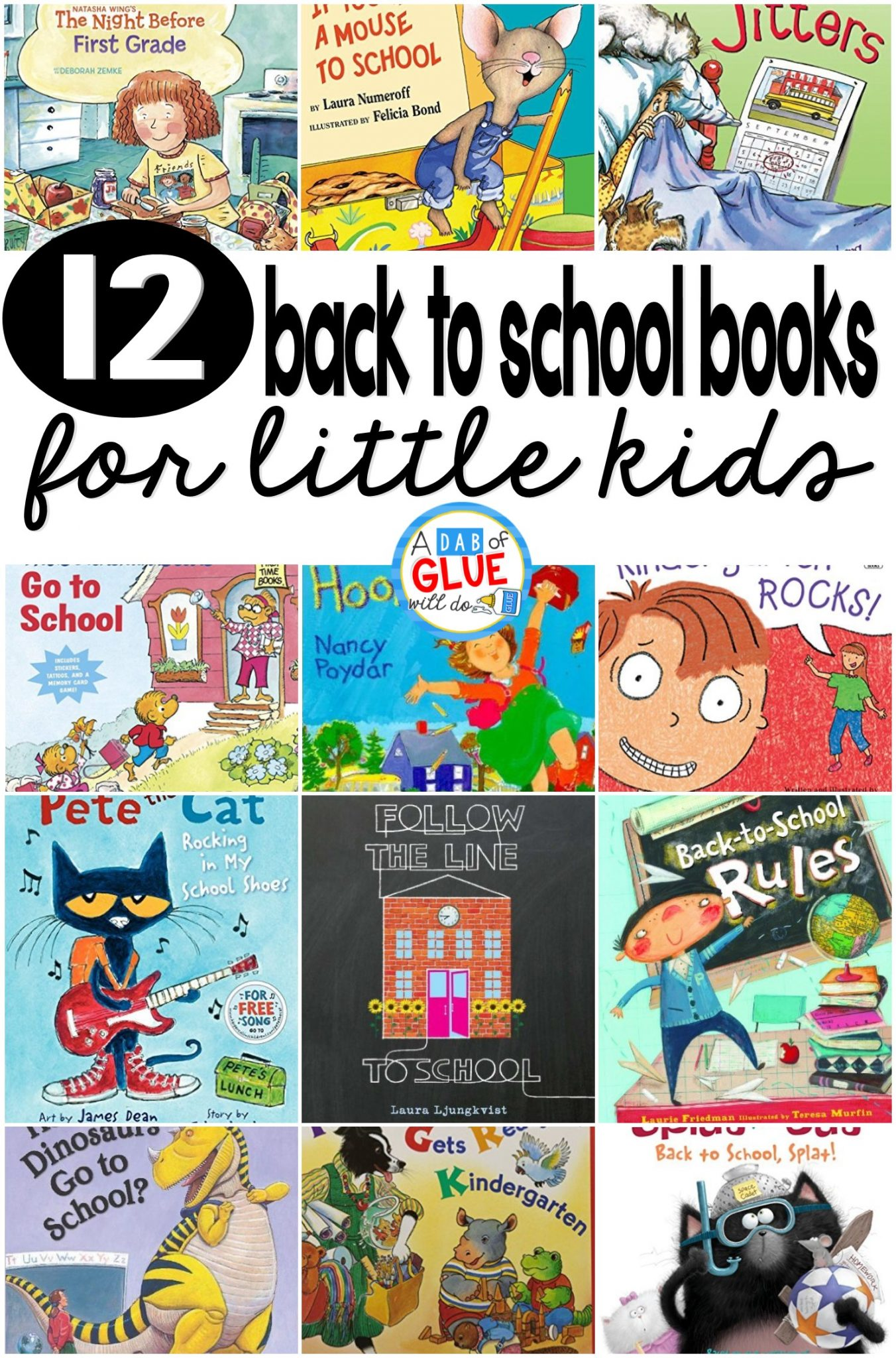 12 back to school books for little kids