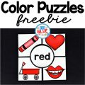 Color Puzzles is a free resource that comes with ten different color puzzles. All you need to do is print, laminate (for durability), and cut out. Then they are ready to go. Color puzzles are great for preschool and kindergarten age students. It is a perfect back to school activity or center or a refresher for later in the year.