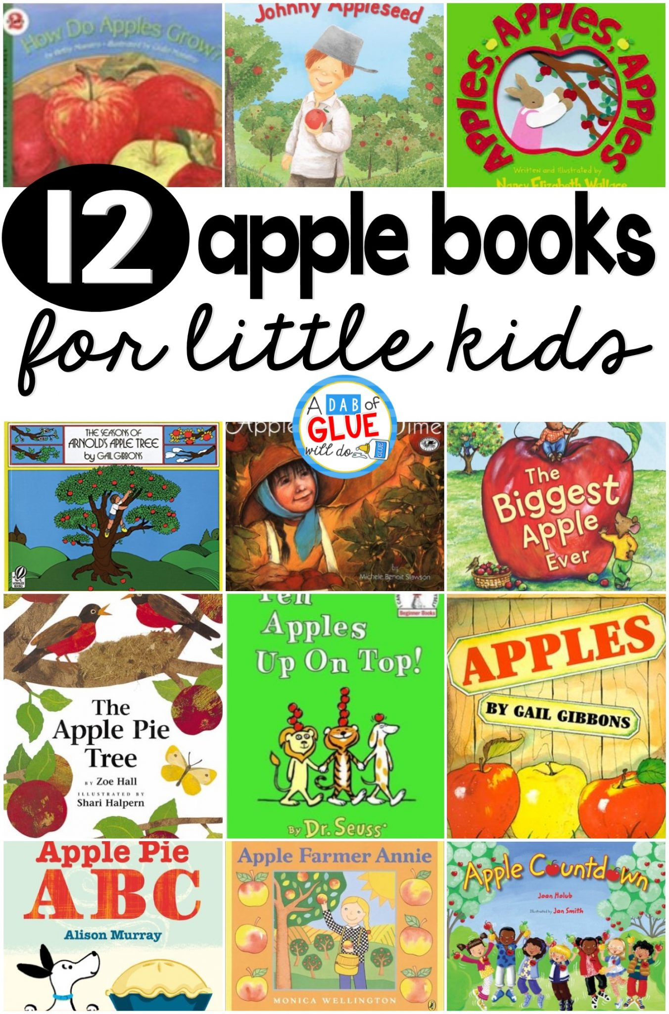 12 Apple Books for Little Kids