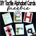 This DIY Tactile Alphabet Cards freebie is perfect for preschool age students wanting to learn their letters and also a great back to school center for kindergarten students needing a little refresher.