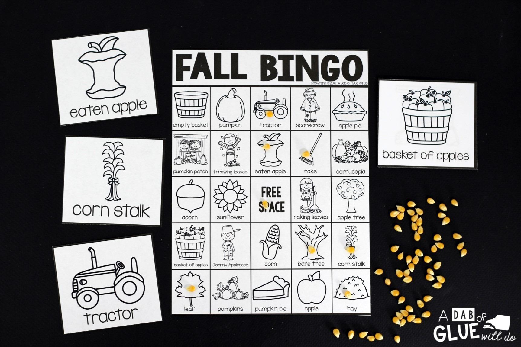bingo  fall
