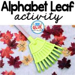 This alphabet Leaf Activity is perfect for preschool and kindergarten students in the fall. It gets students moving and having fun learning.