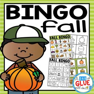 Play Bingo with your elementary age students for a fun fall themed game! Perfect for large groups in your classroom or small review groups. Add this to your fall lesson plans or fall class party with 30 unique Back to School Bingo boards! Teaching cards are also included in this fun game for young children! Black and white options available to save your color ink.