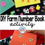 DIY Farm Number Book is a great way for preschool and kindergarten students to practice fine motor skills, one to one correspondence, and number formation. This is a perfect addition to a farm theme or unit.