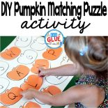 DIY Pumpkin Matching Puzzle is a fun, hands-on game for children of all ages. Toddlers and preschool, kindergarten, and first grade students will be having so much fun that they will not even know that they are learning.