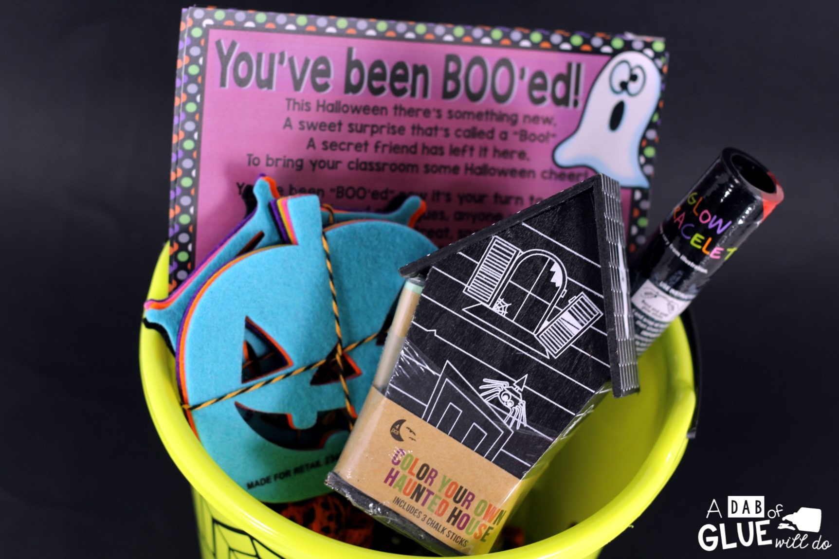 Boo! Basket is the perfect way to start the Holiday season. Spread Halloween cheer among the faculty and staff at your school