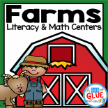 Engage your class in an exciting hands-on experience learning more about farms! This Farm Literacy and Math Centers resource is perfect for language arts and math centers in preschool, pre-K, Kindergarten, and First Grade classrooms and packed full of inviting student activities. Celebrate fall or spring with farm themed center student worksheets.  Students will learn more about farms using puzzles, worksheets, clip cards, and number mats. This pack is great for homeschoolers, hands-on kids activities, and to add to your unit studies!  Teachers will receive the complete unit for farm literacy and math centers to help teach about farms to your lower elementary or preschool students! All centers come in colors AND black and white.
