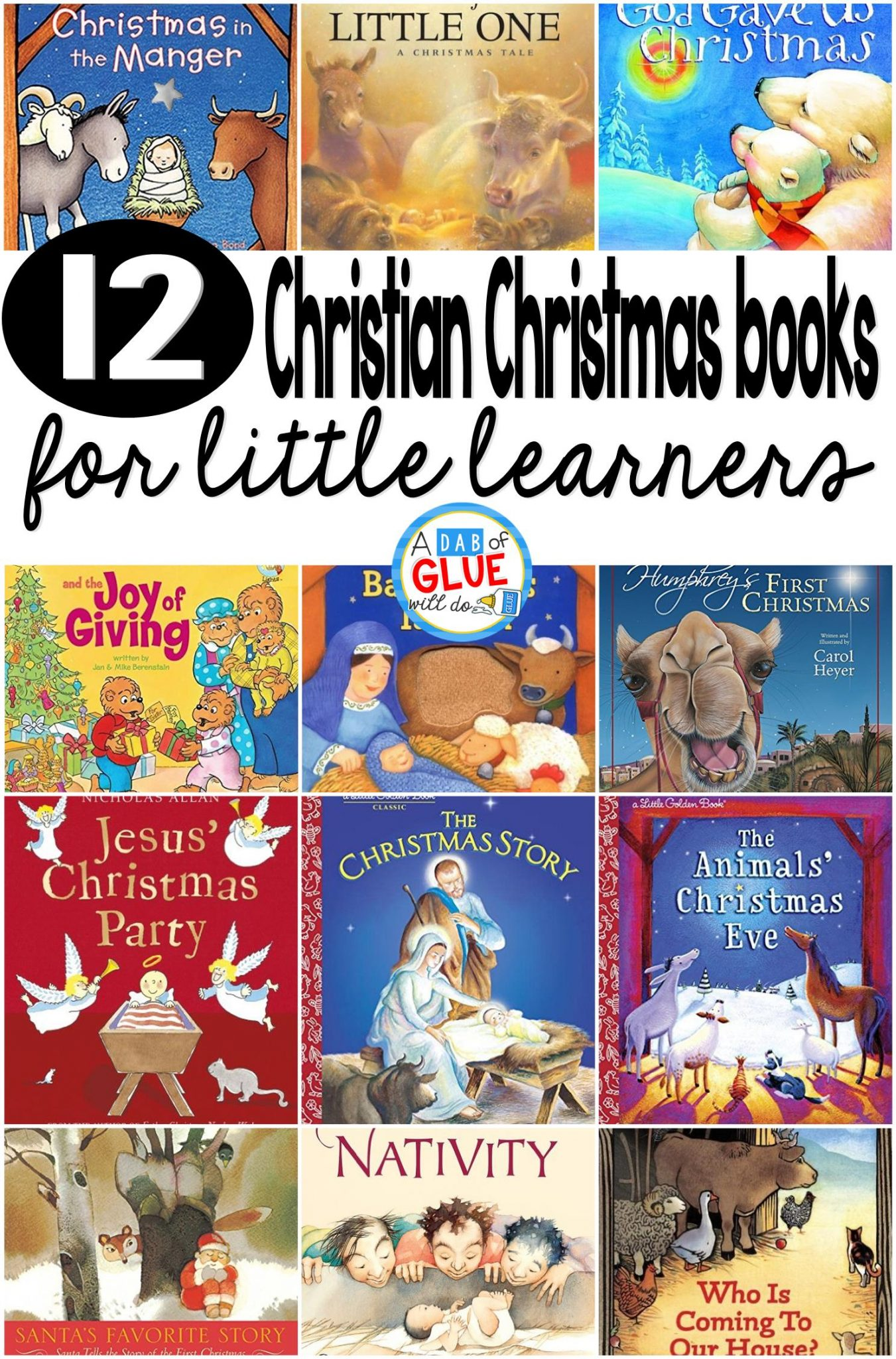 12 christian children s christmas books for little learners
