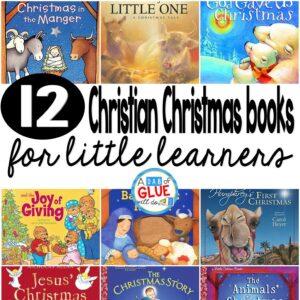 12 Christian Children's Christmas Books for Little Learners