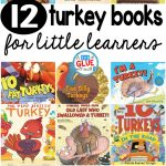 Our 12 favorite turkey books are perfect for your Thanksgiving or fall lesson plans. These are great for preschool, kindergarten, or first grade students.