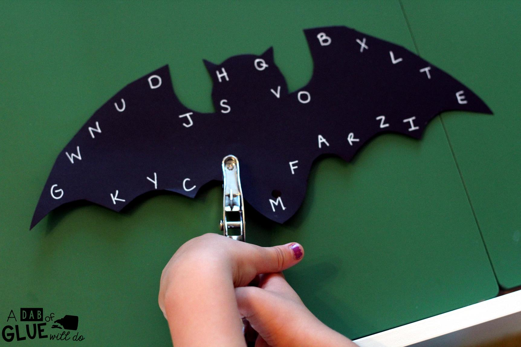Fine Motor Bats is a great hands-on activity for students to review their letters, numbers, or sight words, while working on fine motor skills. It is perfect for preschool, kindergarten, and first grade students.