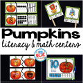 Engage your class in an exciting hands-on experience learning more about pumpkins ! Pumpkins Literacy and Math Centers are perfect for language arts and math centers in Preschool, Kindergarten, and First Grade classrooms and packed full of inviting student activities. Celebrate Fall with pumpkin themed center student worksheets. Students will learn more about pumpkins using puzzles, worksheets, clip cards, and subtraction mats. This pack is great for homeschoolers, hands-on kids activities, and to add to your unit studies! Teachers will receive the complete unit for Autumn pumpkin math and literacy activities to help teach the ocean to your lower elementary students!