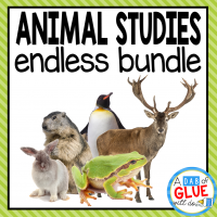 Engage your class in an exciting hands-on experience learning all about animals! Perfect for science in Preschool, Pre-K, Kindergarten, First Grade, and Second Grade classrooms and packed full of inviting science activities.  Students will learn all about the following animals: ants. bats, butterflies, chickens, frogs, groundhogs, ladybugs, owls, penguins, polar bears, rabbits, reindeer, salmon, sea turtles, spiders, turkeys, and whales. This pack is great for homeschoolers, kids craft activities, and to add to your unit studies!