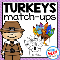 Make learning fun with these Thanksgiving themed Initial Sound, Middle Sound, Ending Sound, Blends, Digraphs, and Number Match-Ups. Your elementary age students will love this fun fall themed literacy center and math center! Perfect for literacy stations, math stations, or small review groups this fall. Use in your Preschool, Kindergarten, and First Grade classrooms. Black and white options available to save your color ink.