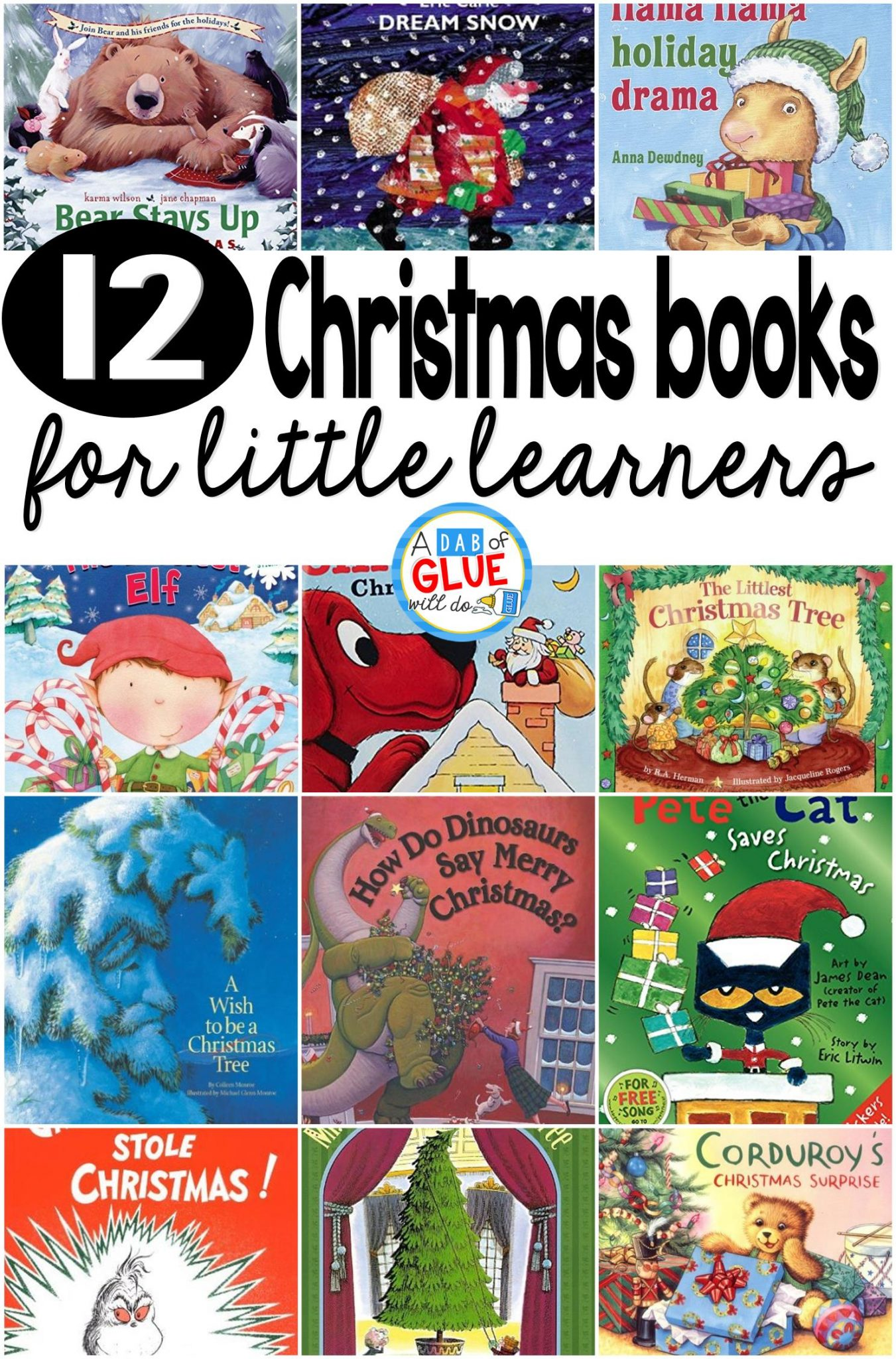 12 Children's Christmas Books for Little Learners