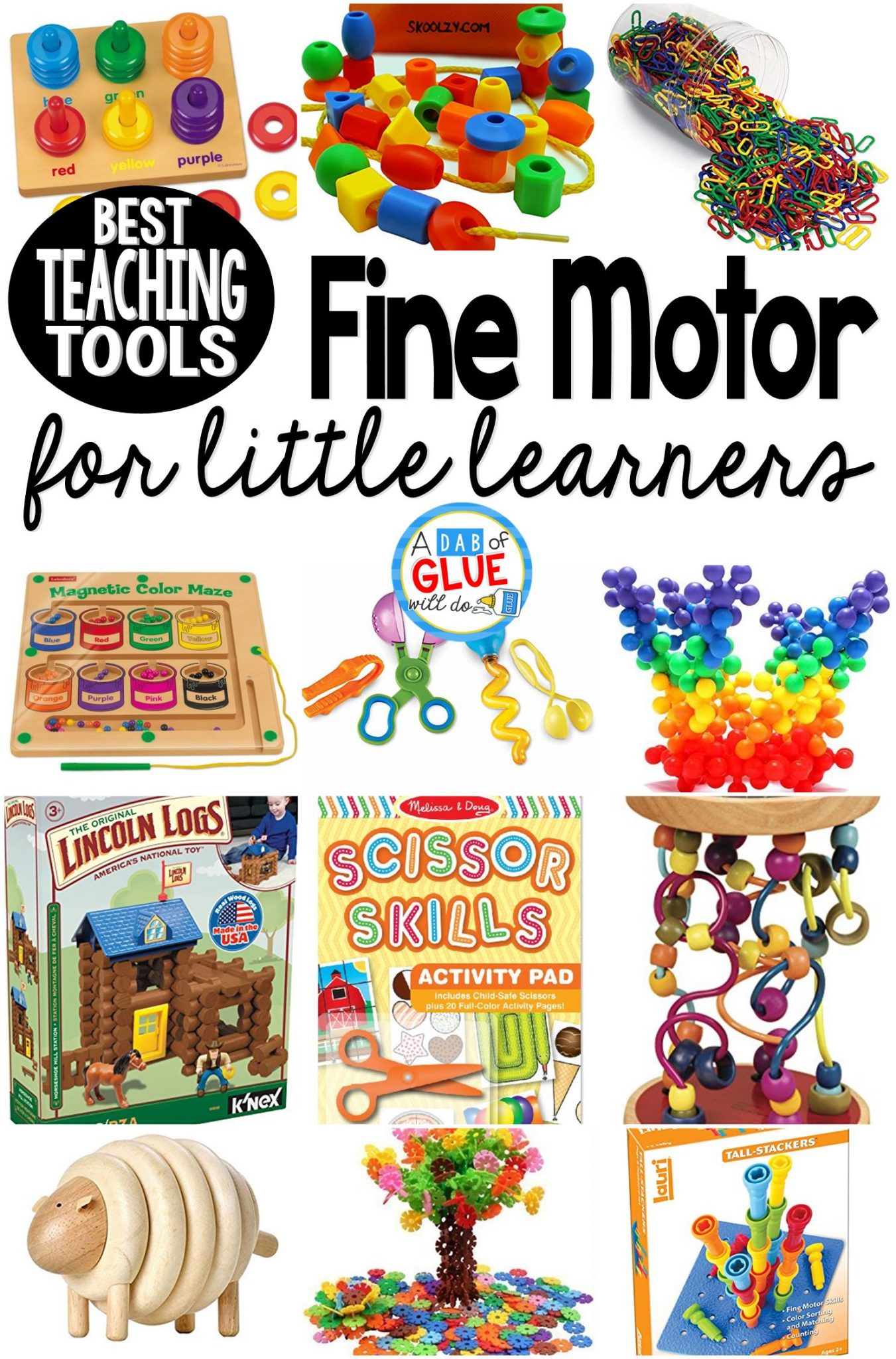Best Fine Motor Teaching Tools for Little Learners