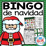 Play Bingo with your elementary age students for a fun Christmas themed game in Spanish! Perfect for large groups in your classroom or small review groups. Add this to your Christmas or Holiday party with 30 unique Bingo de Navidad boards with your students! Christmas Bingo in Spanish is perfect for dual language classrooms and Spanish classes.   Teaching cards are also included in this fun game for young children! Black and white options available to save your color ink.