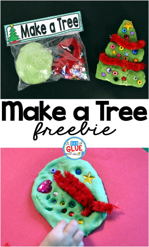 Make a Tree is the perfect STEM Christmas gift. This activity is great for toddlers, preschoolers, and kindergarten and first grade students.