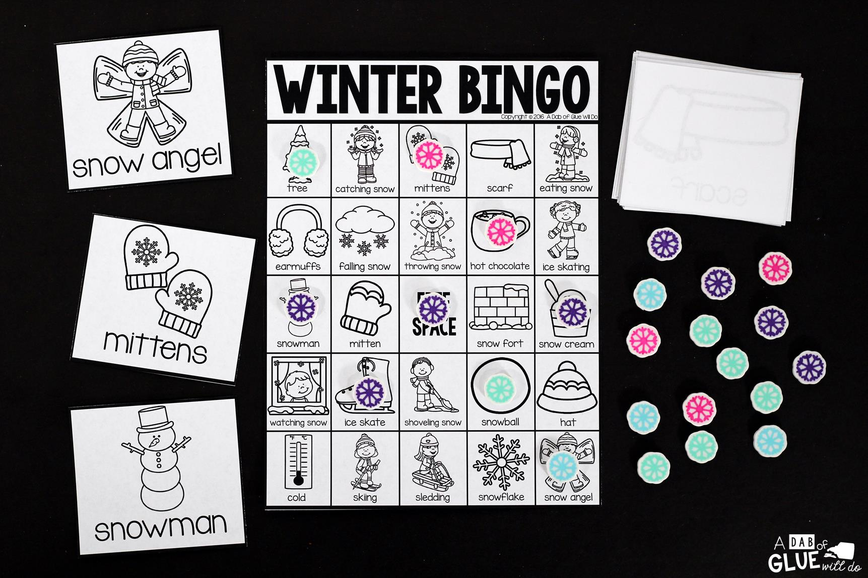 Christmas Bingo Cards For Large Groups