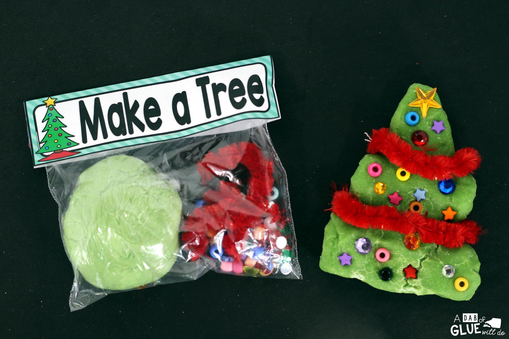 Make a Treeis the perfect STEMChristmasgift. This activity is great for toddlers, preschoolers, and kindergarten and first grade students.
