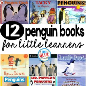 12 Penguin Books for Little Learners