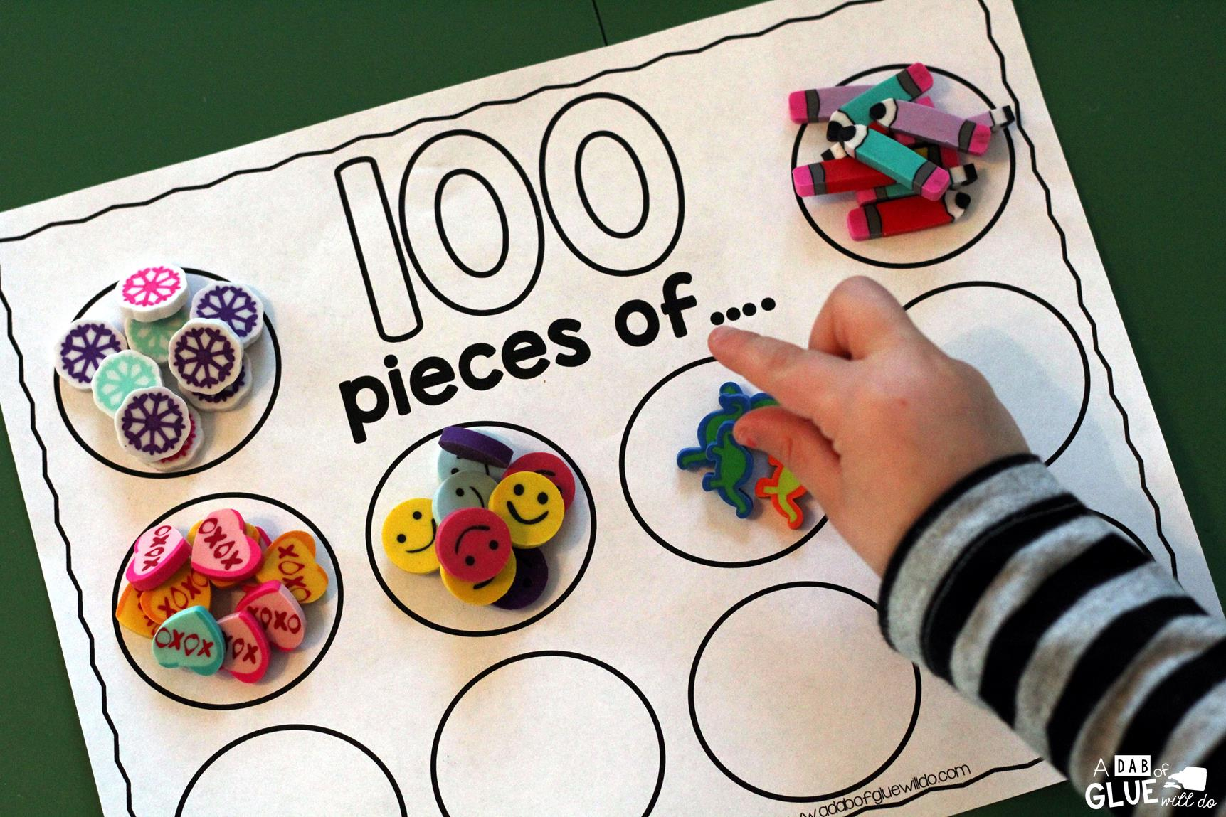 Download 100 Yummy Things Printable