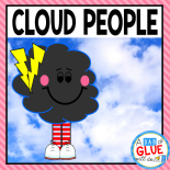 Teach all four types of clouds (cumulus, cirrus, cumulonimbus, and stratus) in your Preschool, Kindergarten, First Grade and Second Grade classrooms with awesome cloud posters!  Cloud people is a great for homeschooler and science lessons in lower elementary classrooms!