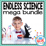 Engage your class in an exciting hands-on experience learning all about science! Perfect for science in Preschool, Pre-K, Kindergarten, First Grade, and Second Grade classrooms and packed full of inviting science activities.   Excite your learners with the study of Life Science, Physical Science, Earth Science, and Animal Studies. These studies are perfect for any time of the year.  This is a GROWING BUNDLE that will have your students learning all about: 21 life science topics, 4 physical science topics, 11 earth science topics, and 17 animal science topics. That is a TOTAL OF 53 SCIENCE TOPICS covered in one mega bundle. This pack is great for homeschoolers, kids craft activities, and to add to your unit studies!