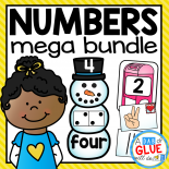 Make learning fun with these themed Number Match-Ups. Your elementary age students will love these fun math centers throughout the school year! This bundle covers Valentine's Day, St. Patrick's, Day, Easter, Thanksgiving, Christmas, Back to School, Spring, Summer,, Winter, and Fall.Perfect for literacy stations or small review groups. Use in your Preschool, Kindergarten, and First Grade classrooms. Black and white options available to save your color ink.