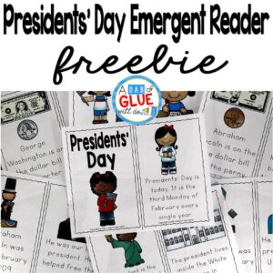 Presidents' Day Emergent Reader