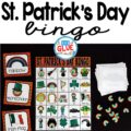 Play Bingo with your elementary age students for a fun St. Patrick's Day themed game! Bingo Sheets for St. Patrick's Day is perfect for large groups in your classroom or small review groups. Add this to your St. Patrick's Day party with 30 unique themed Bingo boards with your students! Teaching cards are also included in this fun game for young children! Black and white options available to save your color ink.