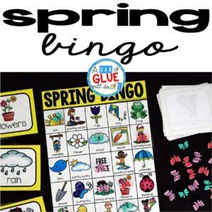 Spring Bingo Sheets