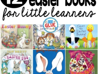 Our 12 favorite Easter books are perfect for your Easter or spring lesson plans. These are great for preschool, kindergarten, or first grade students.