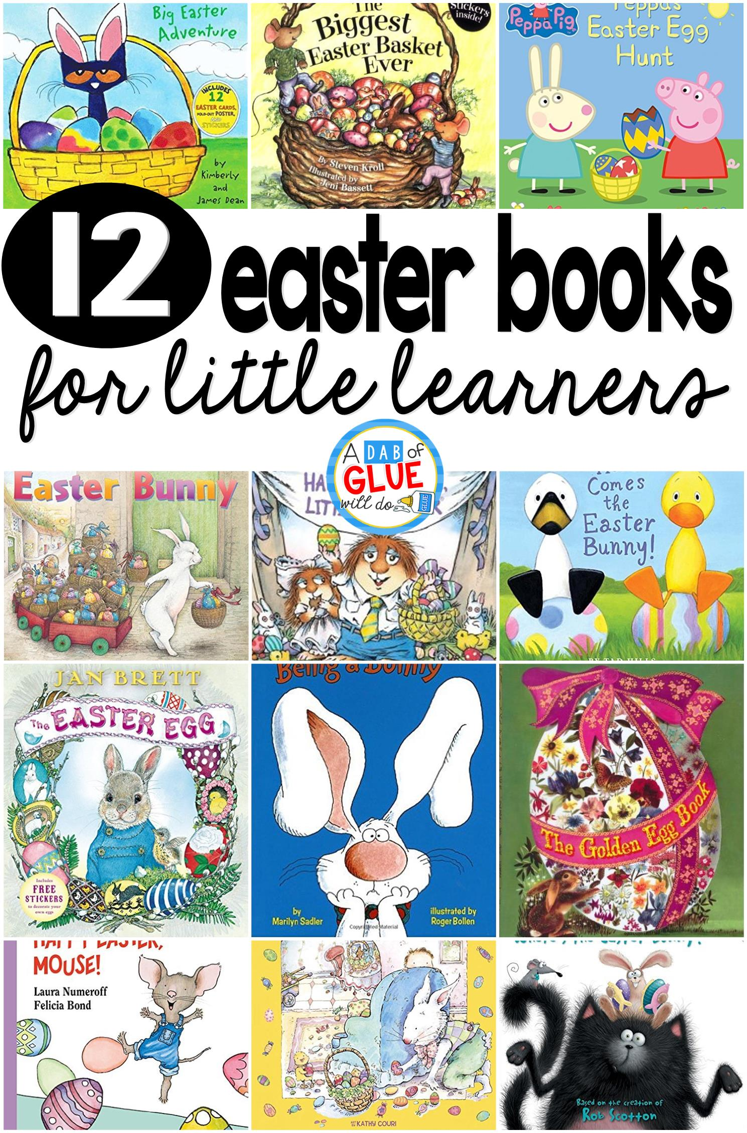 12 Easter Books for Little Learners