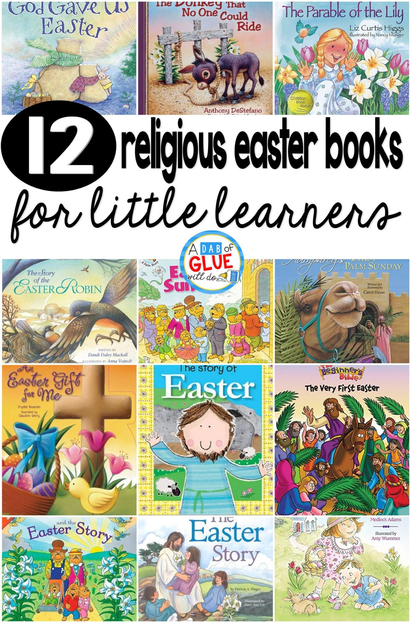 12 Religious Easter Books for Little Learners