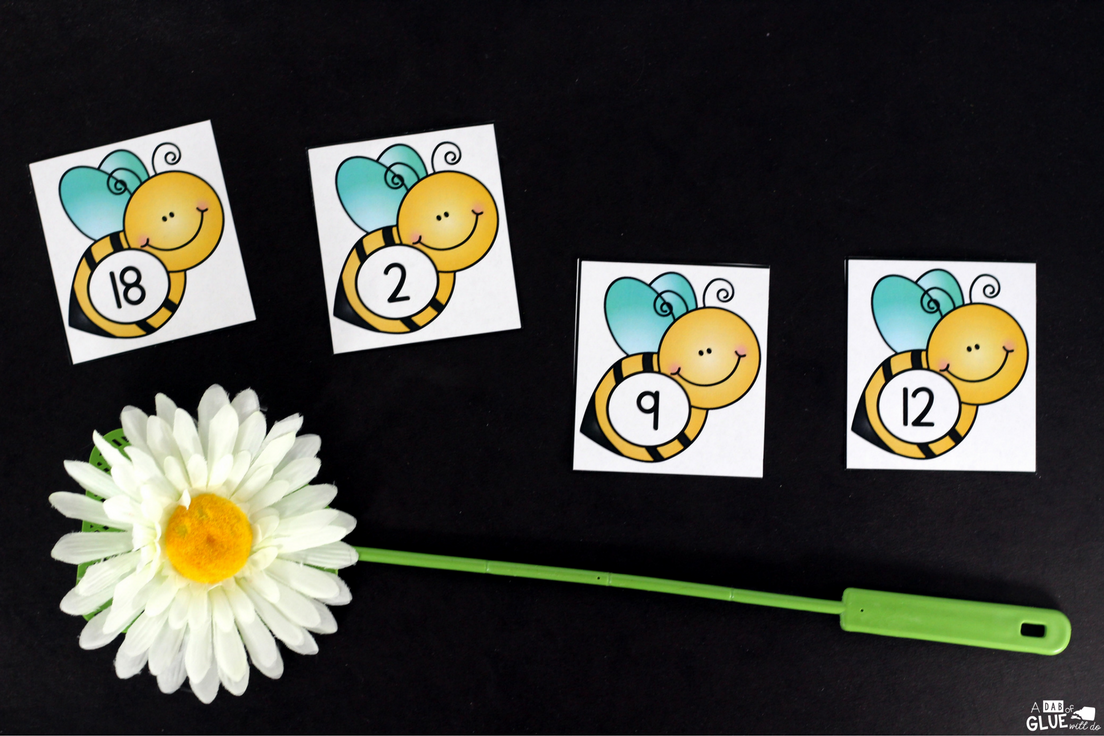 Swat the Bug Learning Activity is a great hands-on way to practice numbers and letters of the alphabet. This free printable is perfect for preschool and kindergarten students.