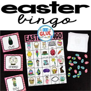 Bingo Sheets for Easter