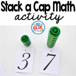 Stack a Cap Math Activity